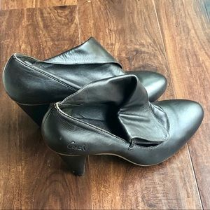 Coach Shoes - Coach Brown Leather Booties